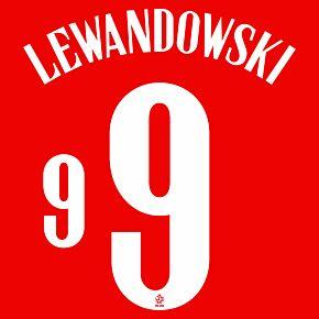 Lewandowski 9 (Official Printing) - 20-21 Poland Away
