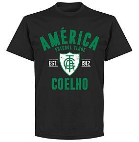 America Minas Gerais Established T-Shirt - Black