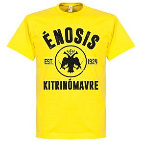 Athens Established Tee - Yellow