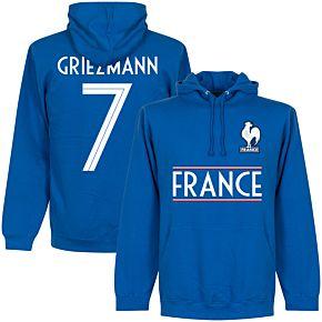 France Griezmann 7 Team Hoodie  - Royal