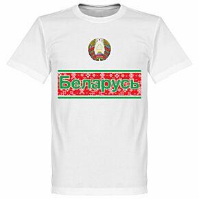 Belarus Team Tee - White
