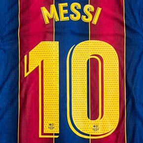 Messi 10 (Match Pro Printing)
