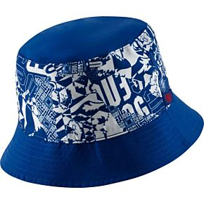 20-21 England Reversible Dry Bucket Hat - White/Royal