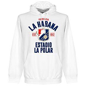 La Habana Established Hoodie - White