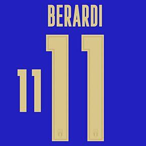 Berardi 11 (Official Printing) - 20-21 Italy Home/3rd