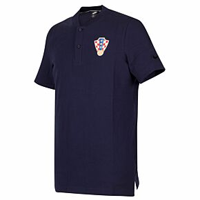 20-21 Croatia Grand Slam Polo Shirt - Blue