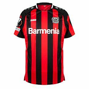 21-22 Bayer Leverkusen Home Shirt + Europa League + Foundation Patches