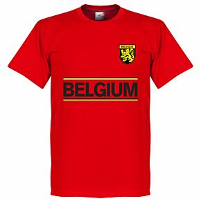 Belgium Team KIDS Tee - Red