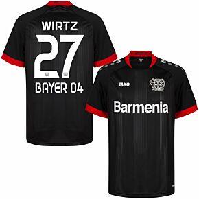 20-21 Bayer Leverkusen Home Shirt + Wirtz 27