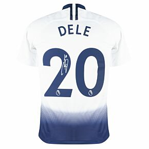Dele Alli Back Signed Tottenham Home 18-19 Shirt