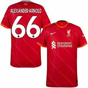 21-22 Liverpool Dri-Fit ADV Match Home Shirt + Alexander-Arnold 66