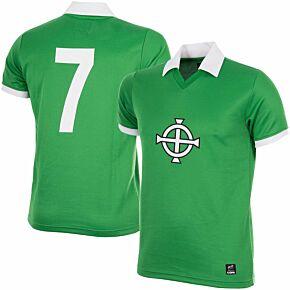 1977 Northern Ireland No7 Retro Jersey (George Best)
