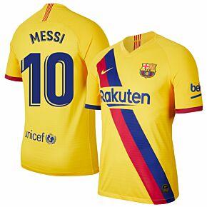 Nike Barcelona Away Messi 10 Jersey 2019-2020 (Fan Style Printing)