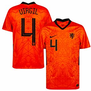 20-21 Holland Home Shirt + Virgil 4 (Official Printing)
