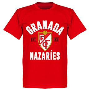 Granada Established T-Shirt - Red
