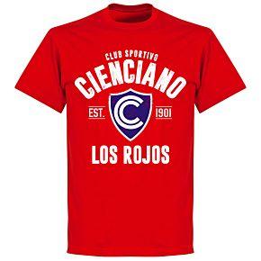 Cienciano Established T-Shirt - Red