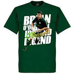 Brian O'Driscoll Legend Tee - Dark Green