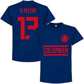 Colombia Y. Mina 13 Team Tee - Ultra