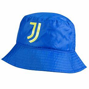 21-22 Juventus Bucket Hat - Royal