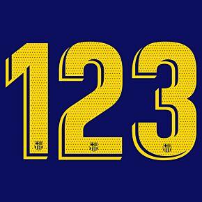 18-21 Barcelona Home Official La Liga Adult Numbers (265mm)