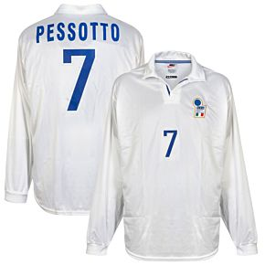 Nike Italy 1998-1999 Away Shirt L/S NEW Match Issue (w/tags) - Pessotto No.7 - Size L
