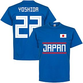 Japan Yoshida 22 Team Tee - Royal