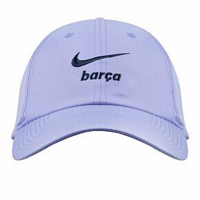 21-22 Barcelona Swoosh H86 Cap - Purple