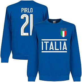Italy Pirlo Team Sweatshirt - Royal