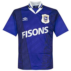 Umbro Ipswich Town 1994-1995 Home Jersey - USED Condition (Good) - Size M