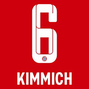 Kimmich 6 (Official Printing) - 21-22 Bayern Munich Home