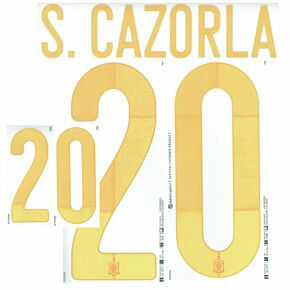 S.Cazorla 20 (Official Printing)