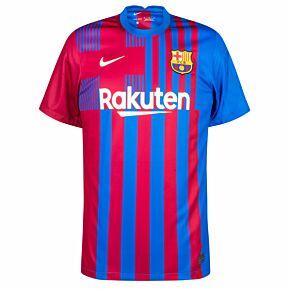 21-22 Barcelona Home Shirt
