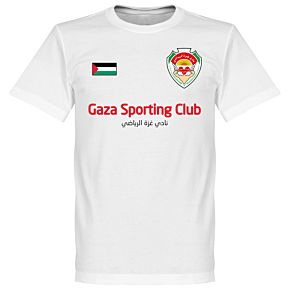 Gaza Sporting Club KIDS Tee - White
