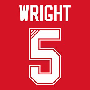 Wright 5 (Retro Flock Printing) 95-96 Liverpool Home
