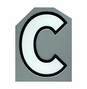 20-21 Premier League Official Adult Small c Letter - White