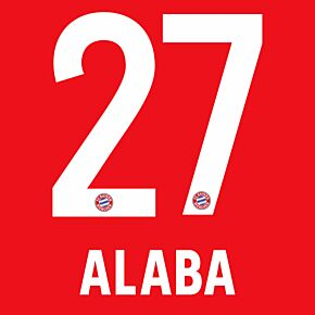Alaba 27 - 19-20 Bayern Munich Home