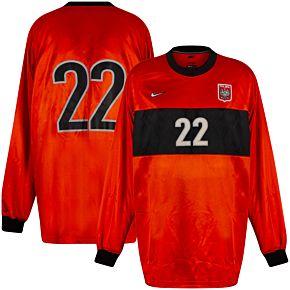 98-99 Poland Away GK Jersey + No. 22 - Grade 9