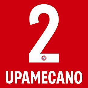 Upamecano 2 (Official Printing) - 21-22 Bayern Munich Home
