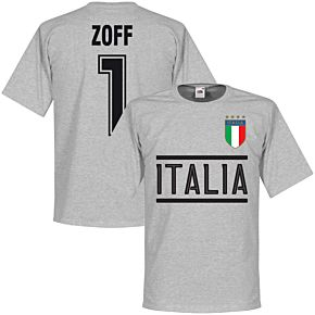 Italy Zoff Team Tee - Grey