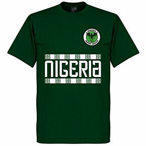 Nigeria Team Tee - Bottle Green