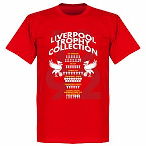 Liverpool Trophy Collection KIDS Tee - Red
