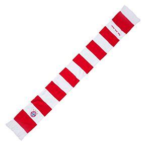 Bayern Munich Classic Bar Scarf - White/Red