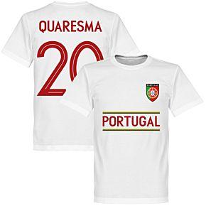 Portugal Quaresma 20 Team Tee - White