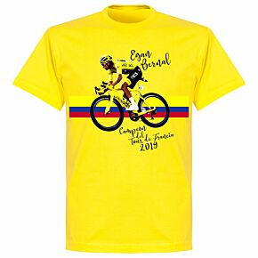 Egan Bernal Tee - Yellow