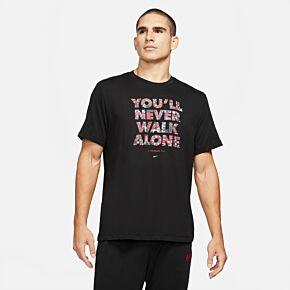 2021 Liverpool Voice T-Shirt - Black