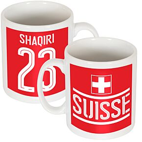 Switzerland Shaqiri Team Mug
