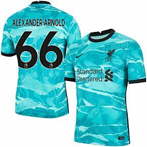 20-21 Liverpool Away Shirt + Alexander-Arnold 66 (Premier League)