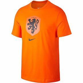 20-21 Holland Evergreen Crest T-Shirt - Orange
