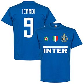 Inter Icardi 9 Team Tee - Royal