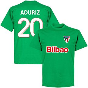 Bilbao Aduriz 20 Team T-shirt - Green